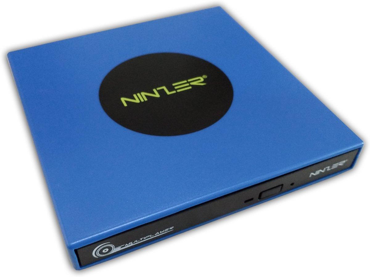 Externe DVD ? RW, DVD Speler en Brander Combo Drive | Blauw