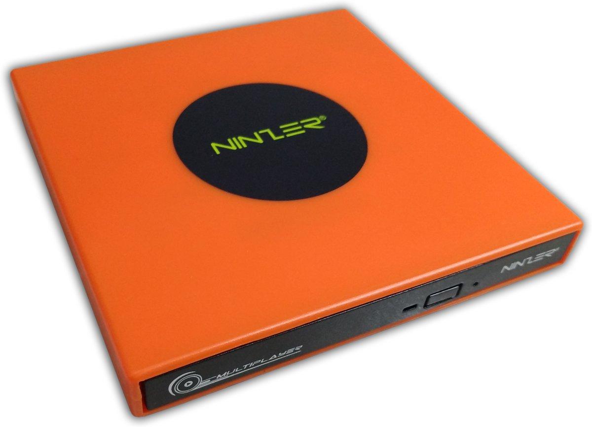 Externe DVD ? RW, DVD Speler en Brander Combo Drive | Oranje