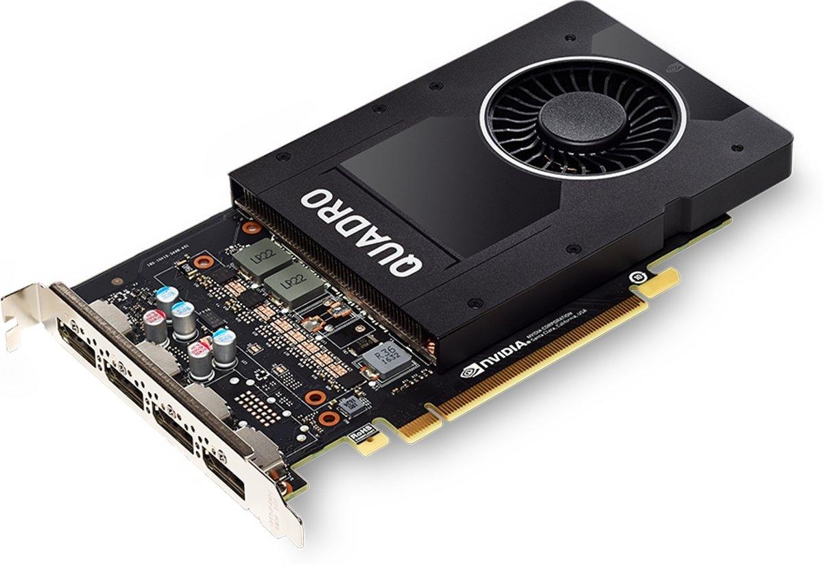 PNY VCQP2000-PB videokaart Quadro P2000 5 GB GDDR5