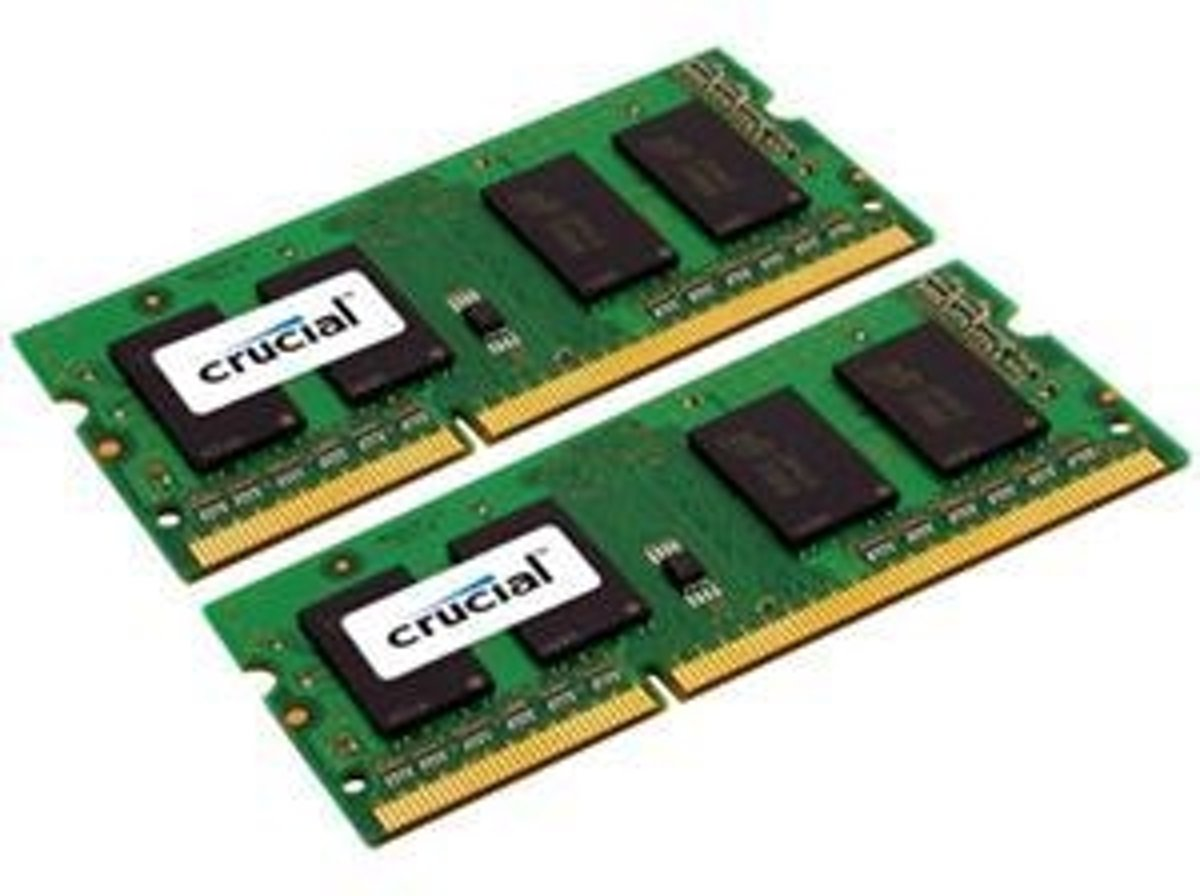 Crucial 8GB DDR3-1066 geheugenmodule 1066 MHz