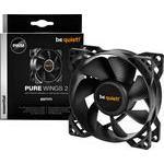 BeQuiet PC ventilator (b x h x d) 80 x 80 x 25 mm