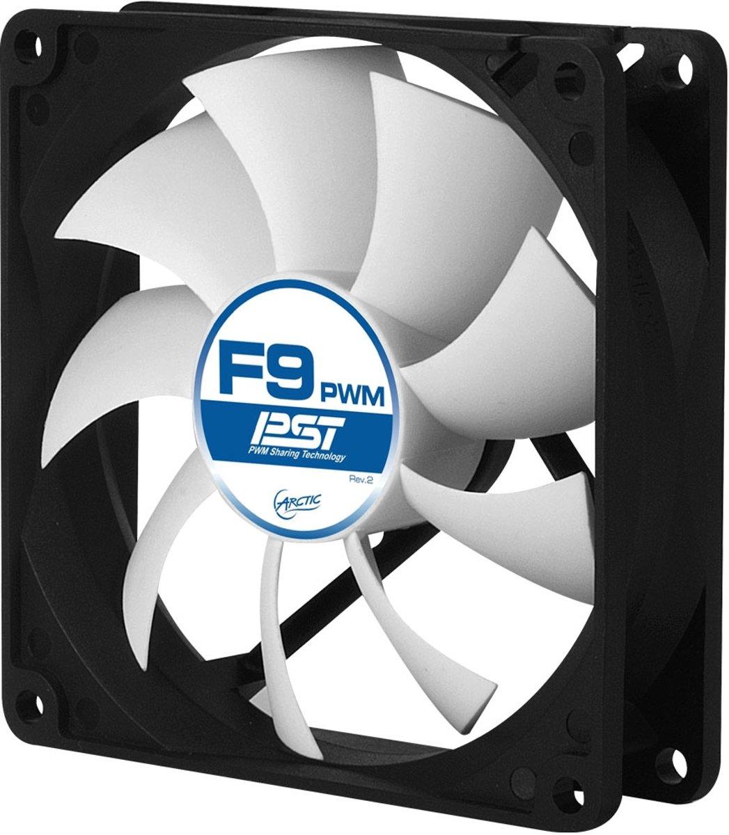 Arctic F9 PWM PST PC ventilator (b x h x d) 92 x 92 x 25 mm