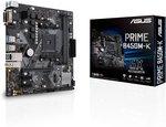 Asus Prime B450M-K Moederbord Socket AMD AM4 Vormfactor Micro-ATX Moederbord chipset AMD??? B450