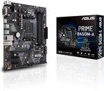 Asus Prime B450M-A Moederbord Socket AMD AM4 Vormfactor Micro-ATX Moederbord chipset AMD??? B450