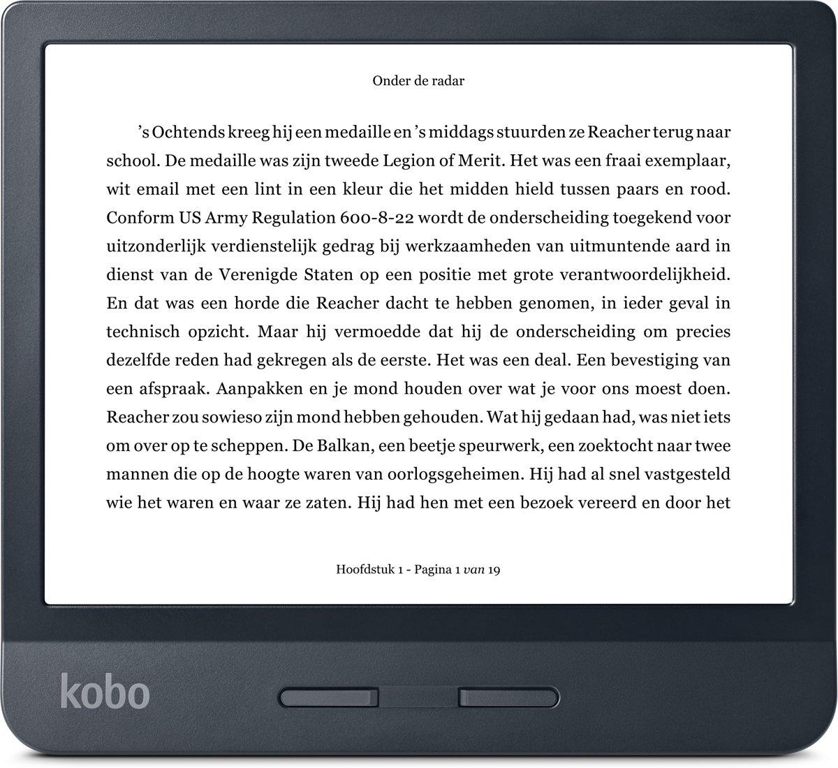 Kobo Libra H2O e-reader - Zwart