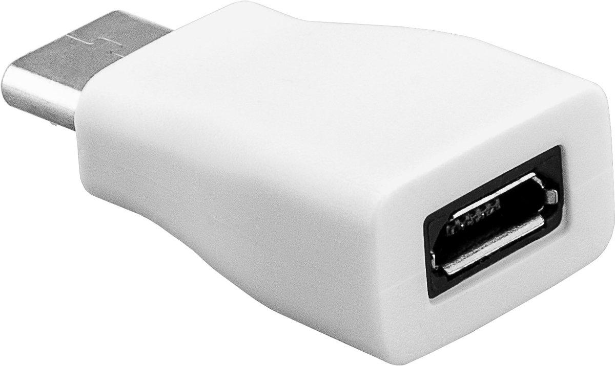 Goobay USB 2.0 Adapter [1x USB-C stekker - 1x Micro-USB 2.0 B-bus]