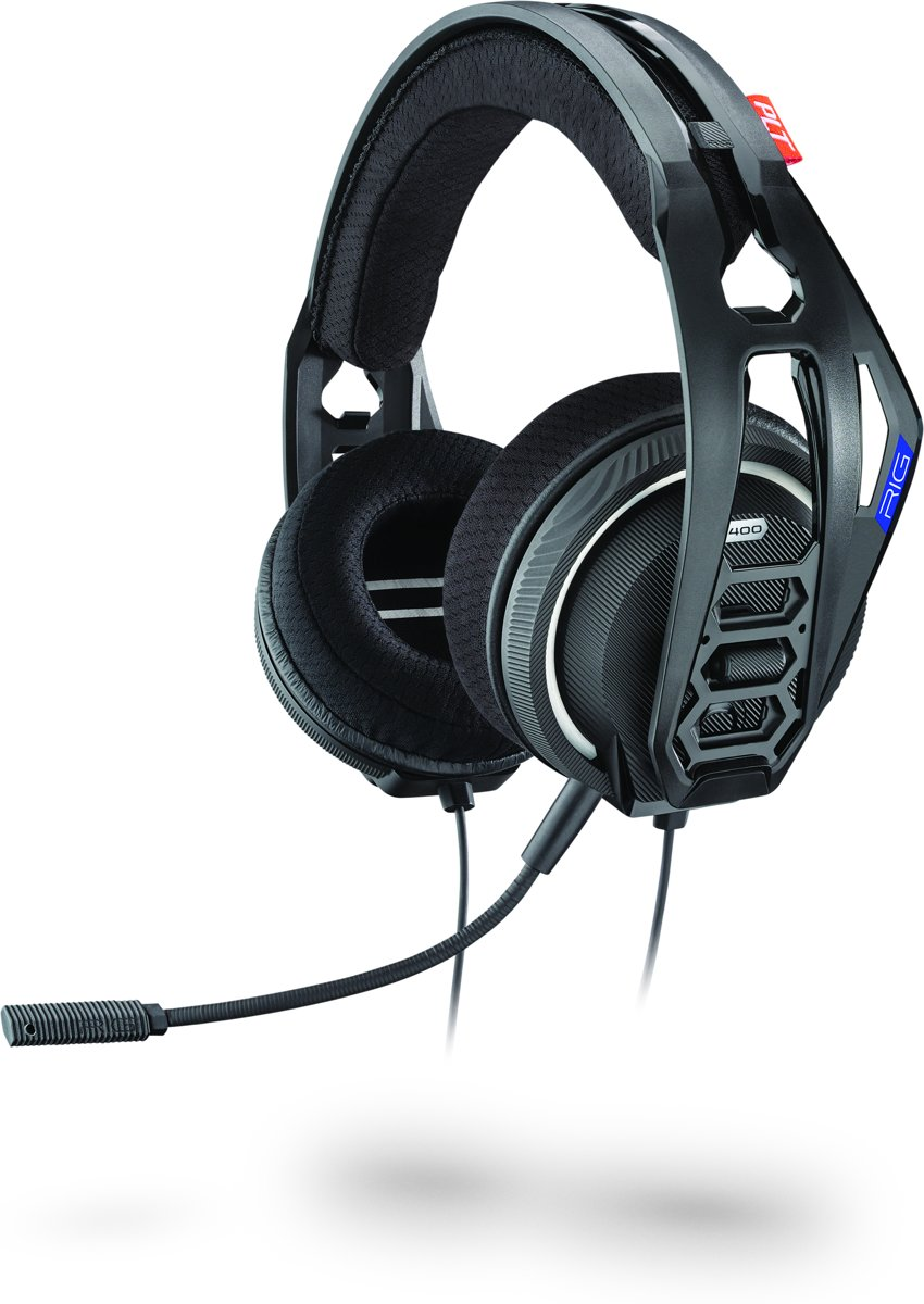 Plantronics RIG 400HS - Gaming Headset - Official Licensed - PS4 - Zwart