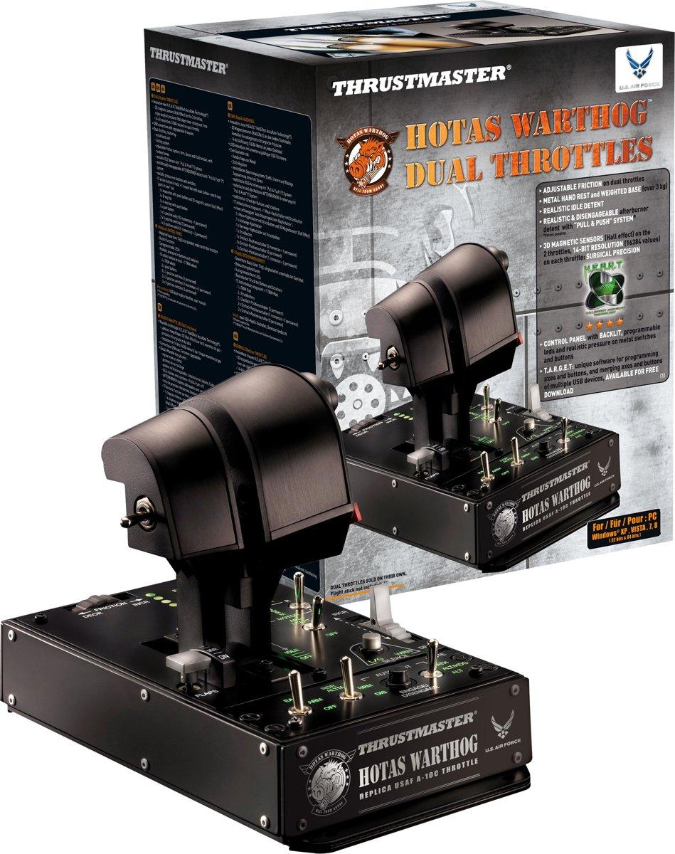 Thrustmaster hotas warthog? dual throttle