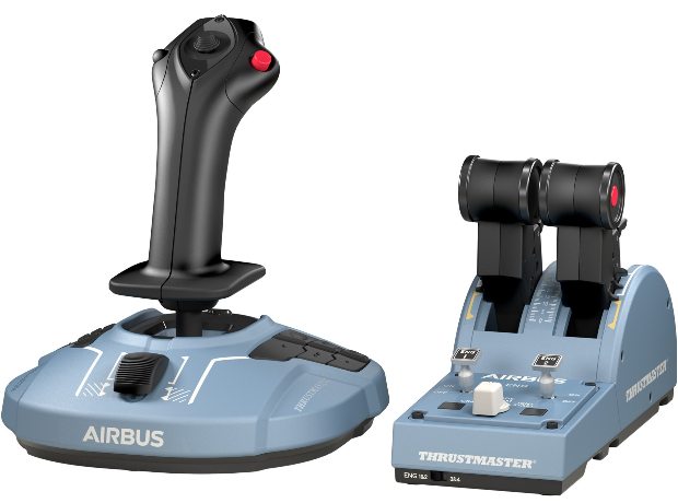 Thrustmaster TCA Officer Pack Airbus Edition gaming set