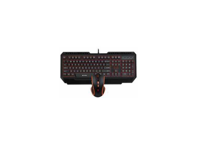 V100 Backlight Gaming Set - Combo