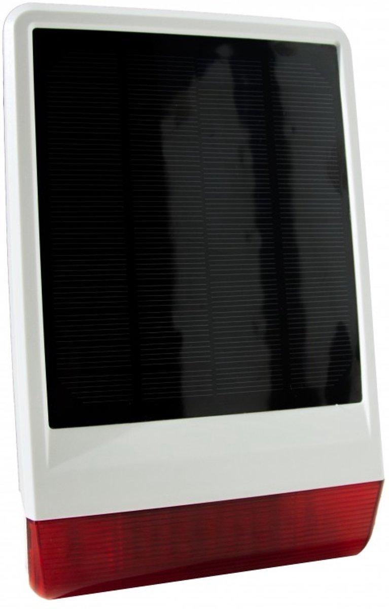 Popp Z-Wave Buitensirene met Zonnepaneel