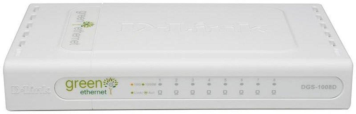 D-Link DGS-1008D - Switch