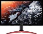 Acer KG241P LED-monitor 61 cm (24 inch) Energielabel C (A+ - F) 1920 x 1080 pix Full HD 1 ms Audio-Line-in, Audio-Line-out, HDMI, DVI, DisplayPort TN Film
