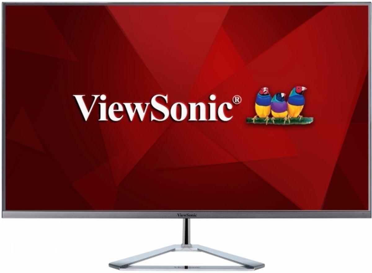 Viewsonic VX3276-2K-MHD LED-monitor 81.3 cm (32 inch) Energielabel B (A+ - F) 2560 x 1440 pix WQHD 3 ms HDMI, DisplayPort, Mini DisplayPort, Hoofdtelefoon (3.5