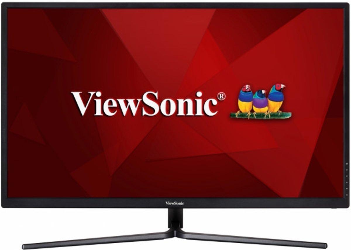Viewsonic VX3211-4K-MHD LCD-monitor 80 cm (31.5 inch) Energielabel B (A+ - F) 3840 x 2160 pix UHD 2160p (4K) 5 ms HDMI, DisplayPort, Hoofdtelefoon (3.5 mm