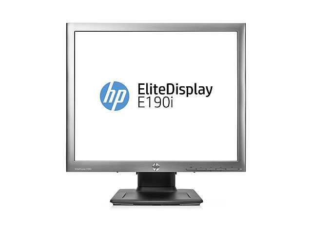 EliteDisplay E190i 18.9-in 5:4 LED Backlit IPS Monitor (ENERGY STAR