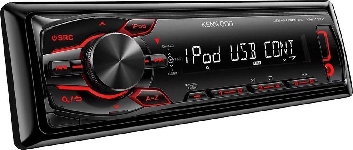 Kenwood KMM-261 - Autoradio Enkel DIN - USB