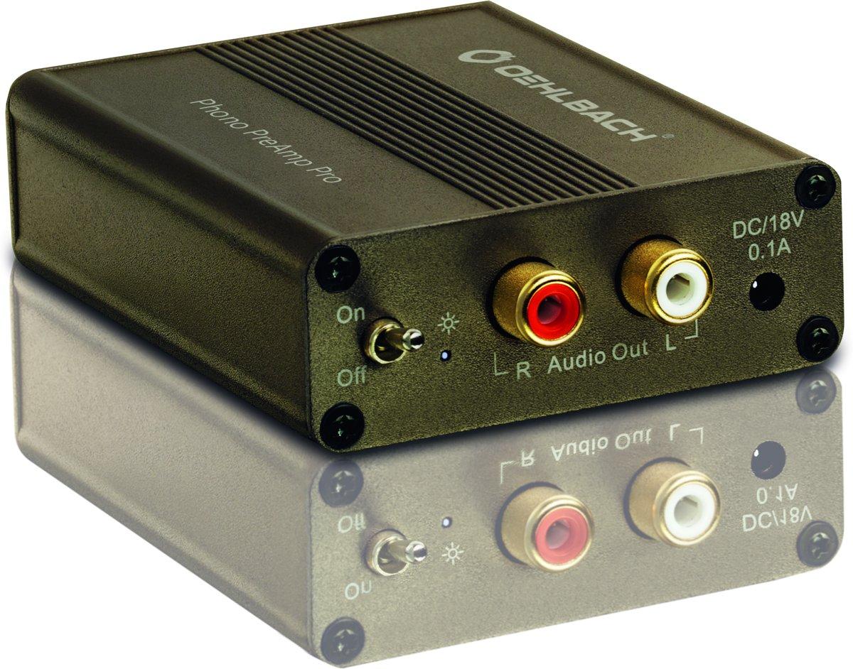 OEHLBACH Phono-voorversterker voor MM en MC-platenspelers