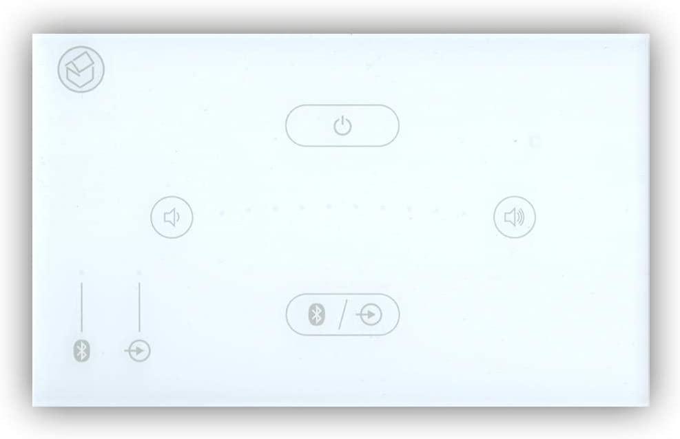 Systemline E50 stereo inbouw versterker met Bluetooth voor o.a.