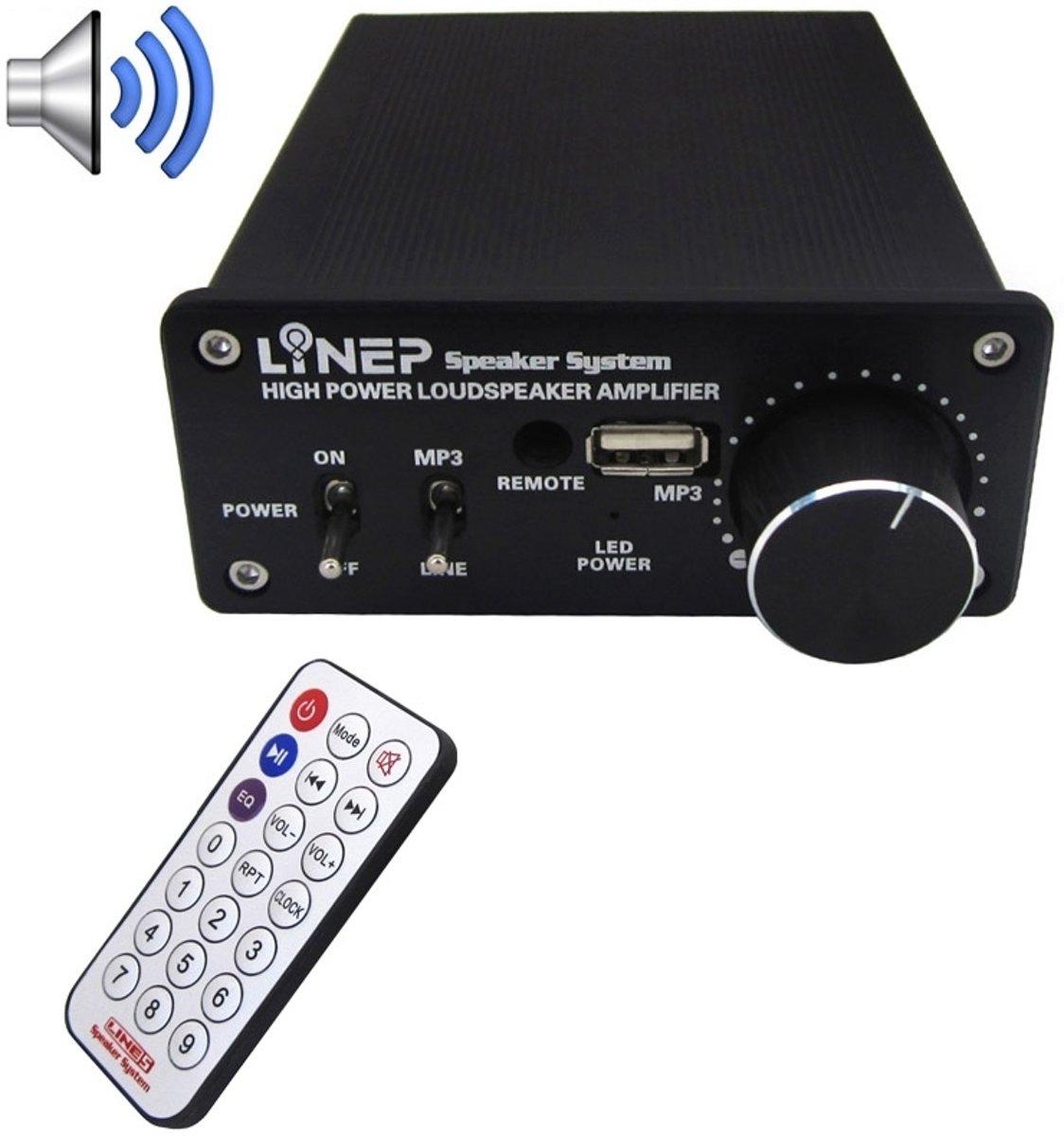 A917 320W-MP3 Digitale High Power Versterker
