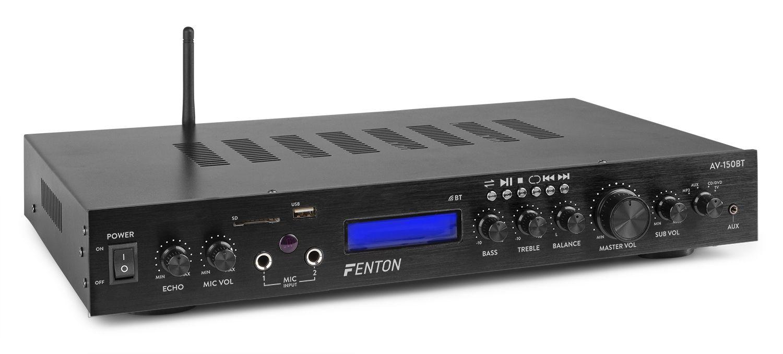 Fenton AV-150BT 5-kanaals surround versterker met Bluetooth - 380W