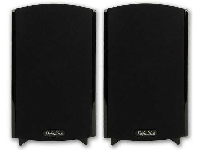 Definitive Technology Promonitor 800 zwart