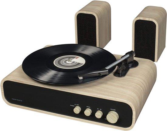 Crosley Gig Retro Platenspeler Bluetooth met Externe Speakers