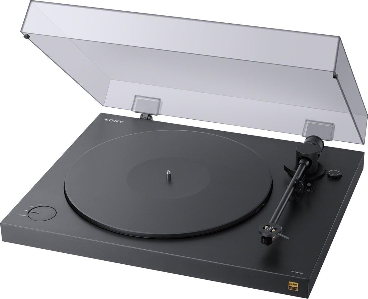 Sony PS-HX500 - Hi-Res Audio platenspeler met USB - Zwart