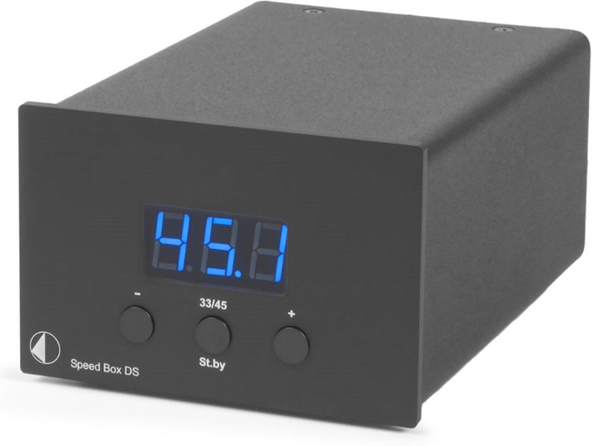 Pro-Ject Speed Box DS zwart Platenspeleraccessoire