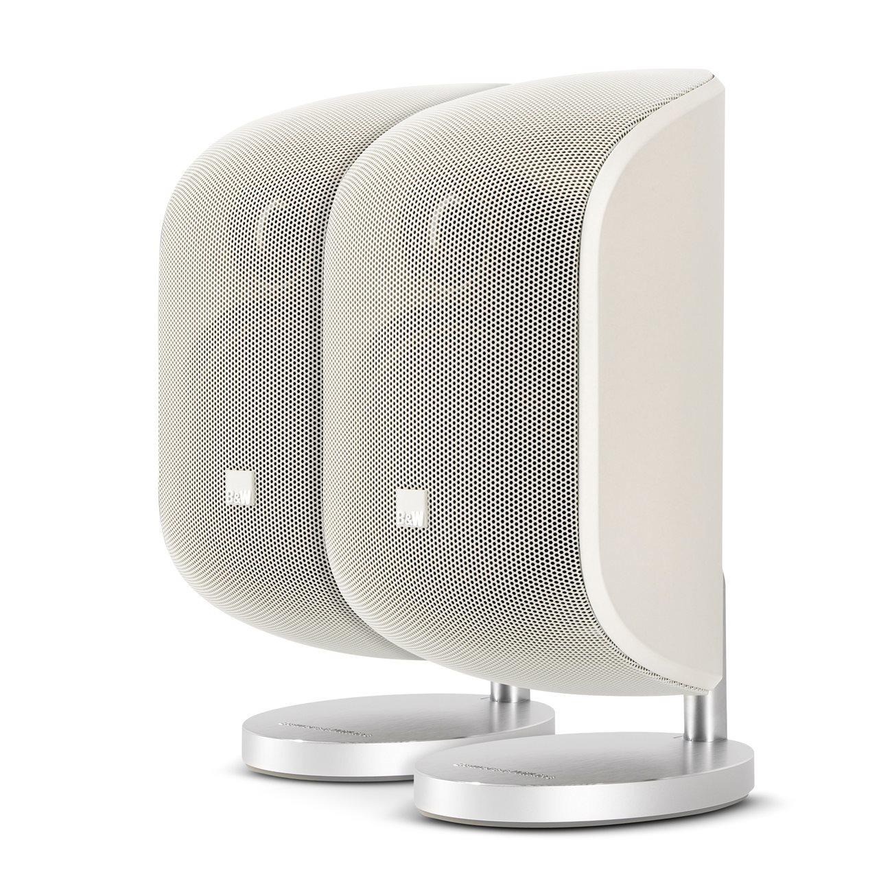 Bowers & Wilkins boekenplank speaker M-1 wit