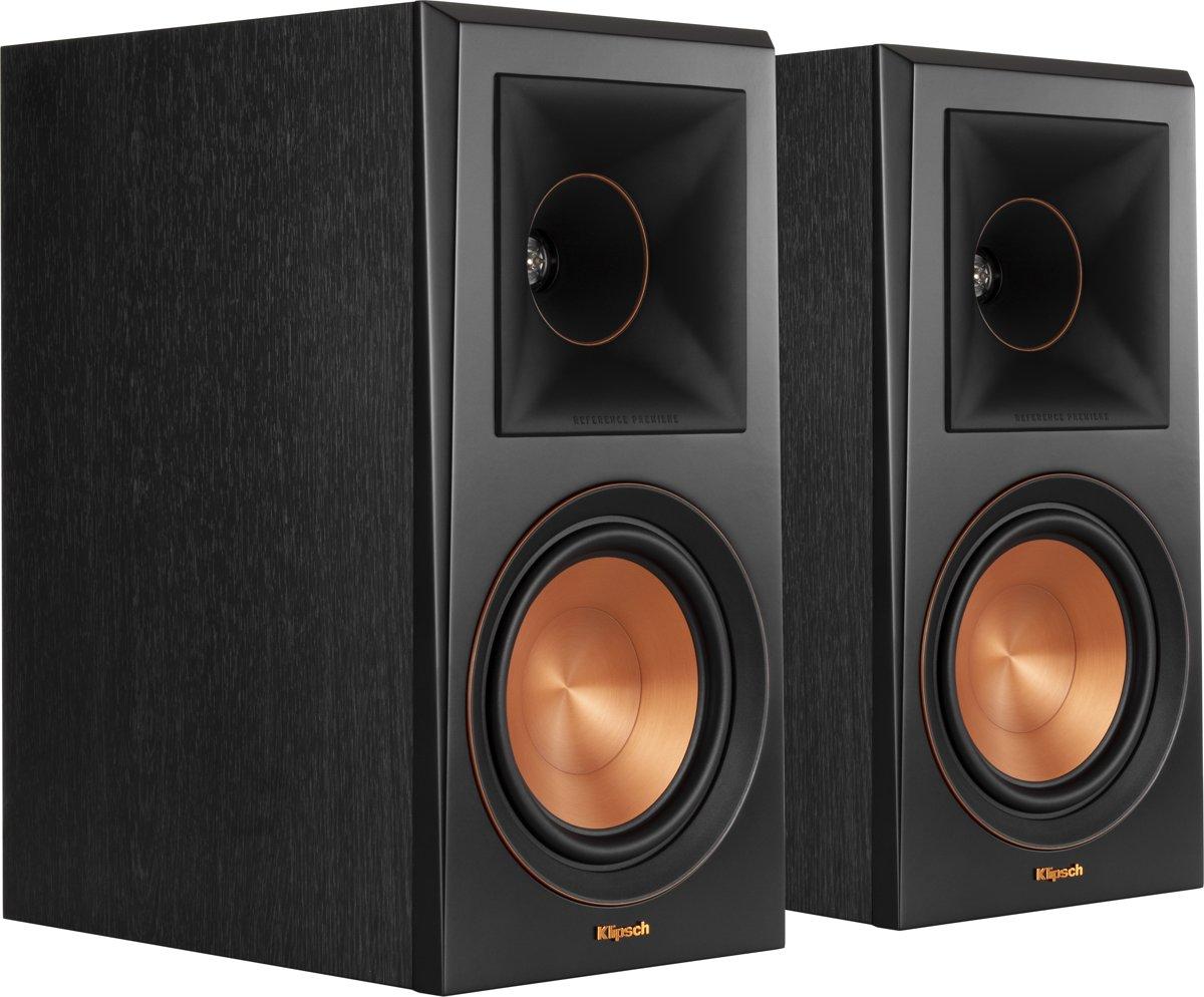 Klipsch boekenplank speaker RP-600M ebbenhout
