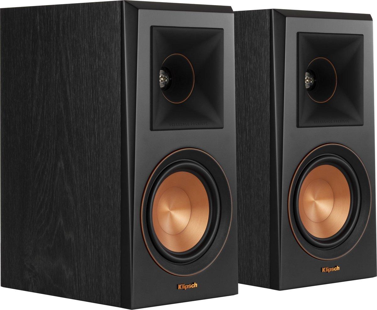 Klipsch boekenplank speaker RP-500M ebbenhout
