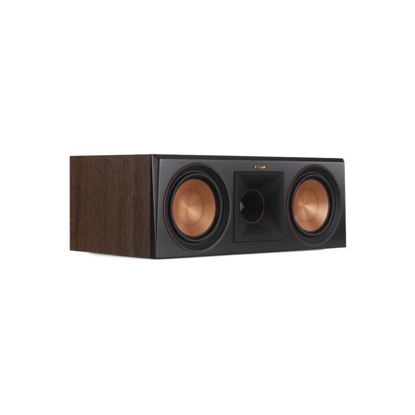 Klipsch boekenplank speaker RP-600C walnoot