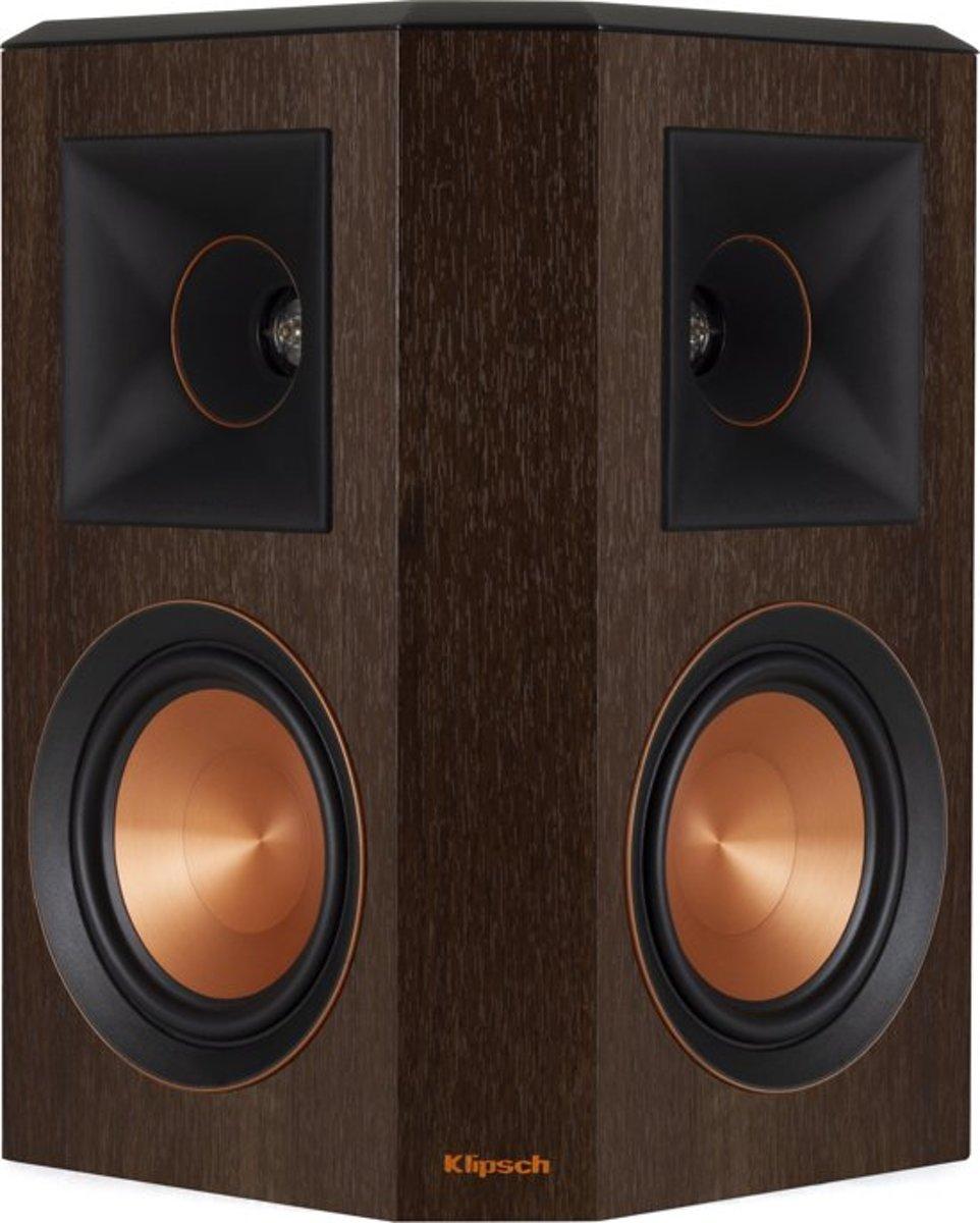 Klipsch boekenplank speaker RP-502S walnoot