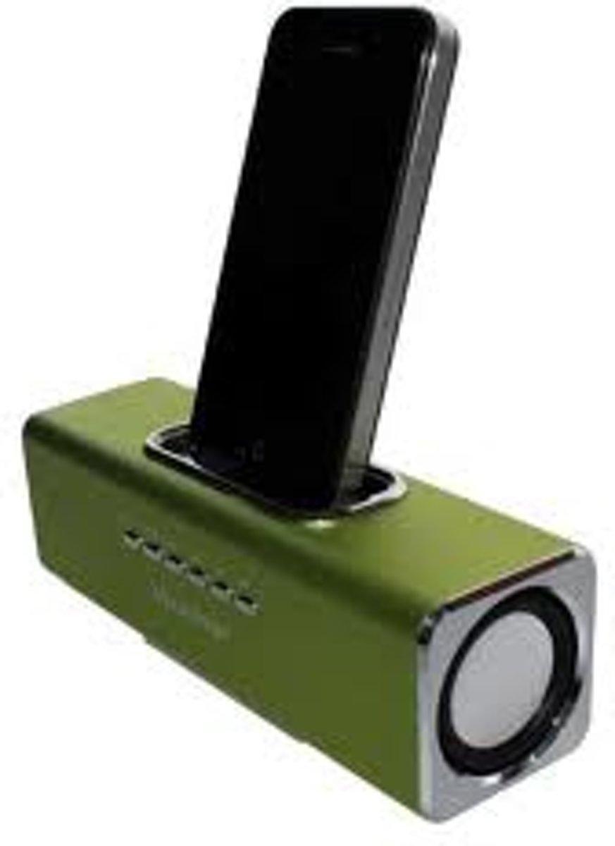 Technaxx MusicMan Docking Soundstation groen