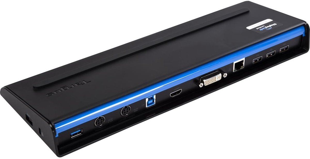 Targus USB 3.0 Docking Station met laptop oplader - Docking Station