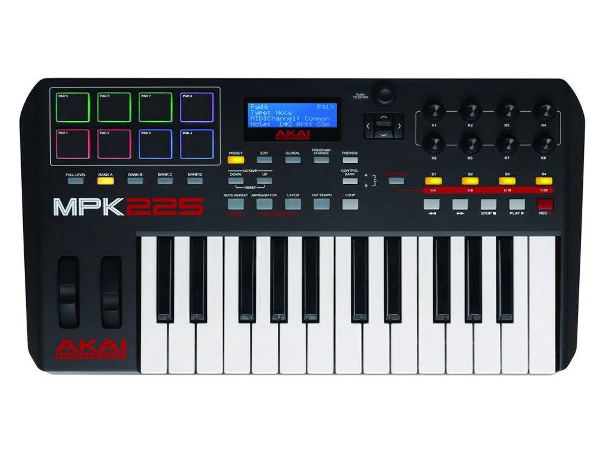 AKAI Professional MPK225 MIDI-controller