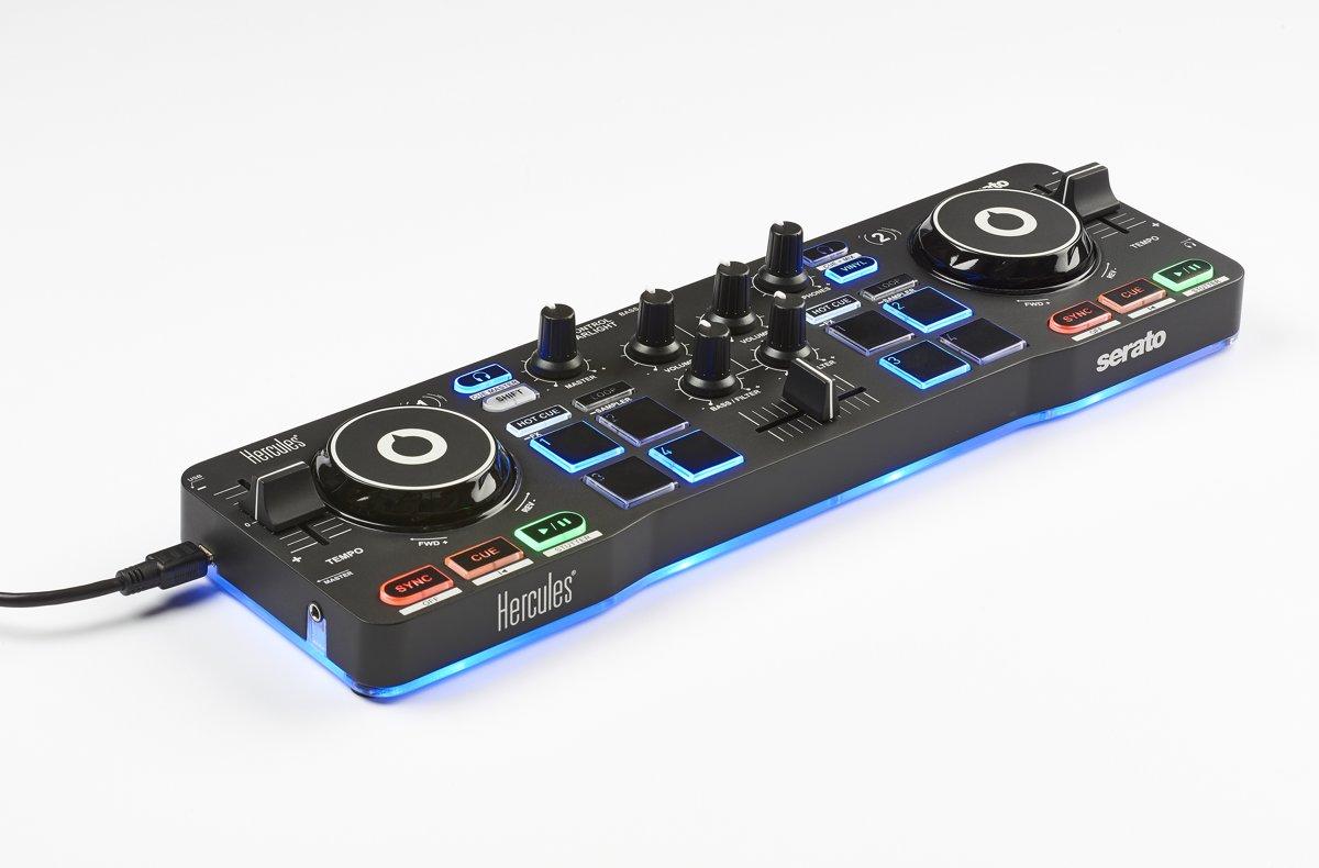 Hercules DJControl Starlight - DJ controller - Zwart