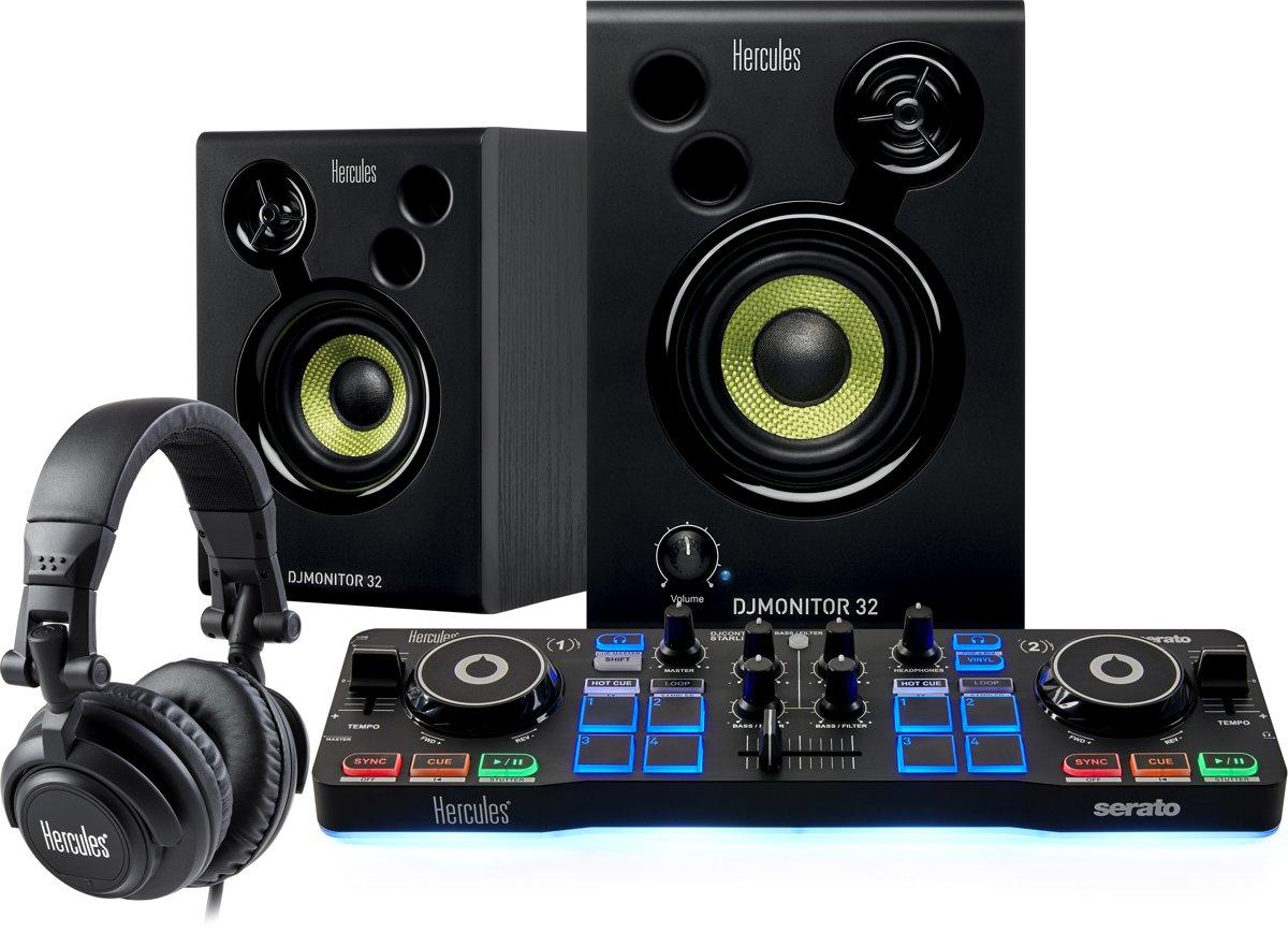Hercules DJ Starter Kit - DJ Controller