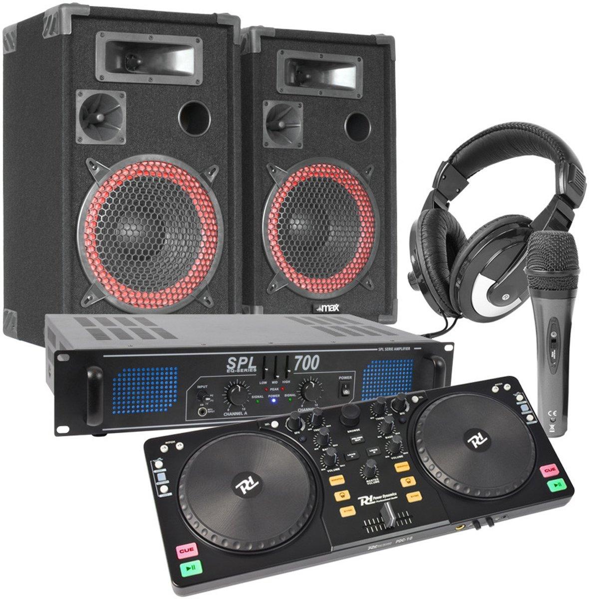 Power Dynamics PDC-10 DJ Controller set 700