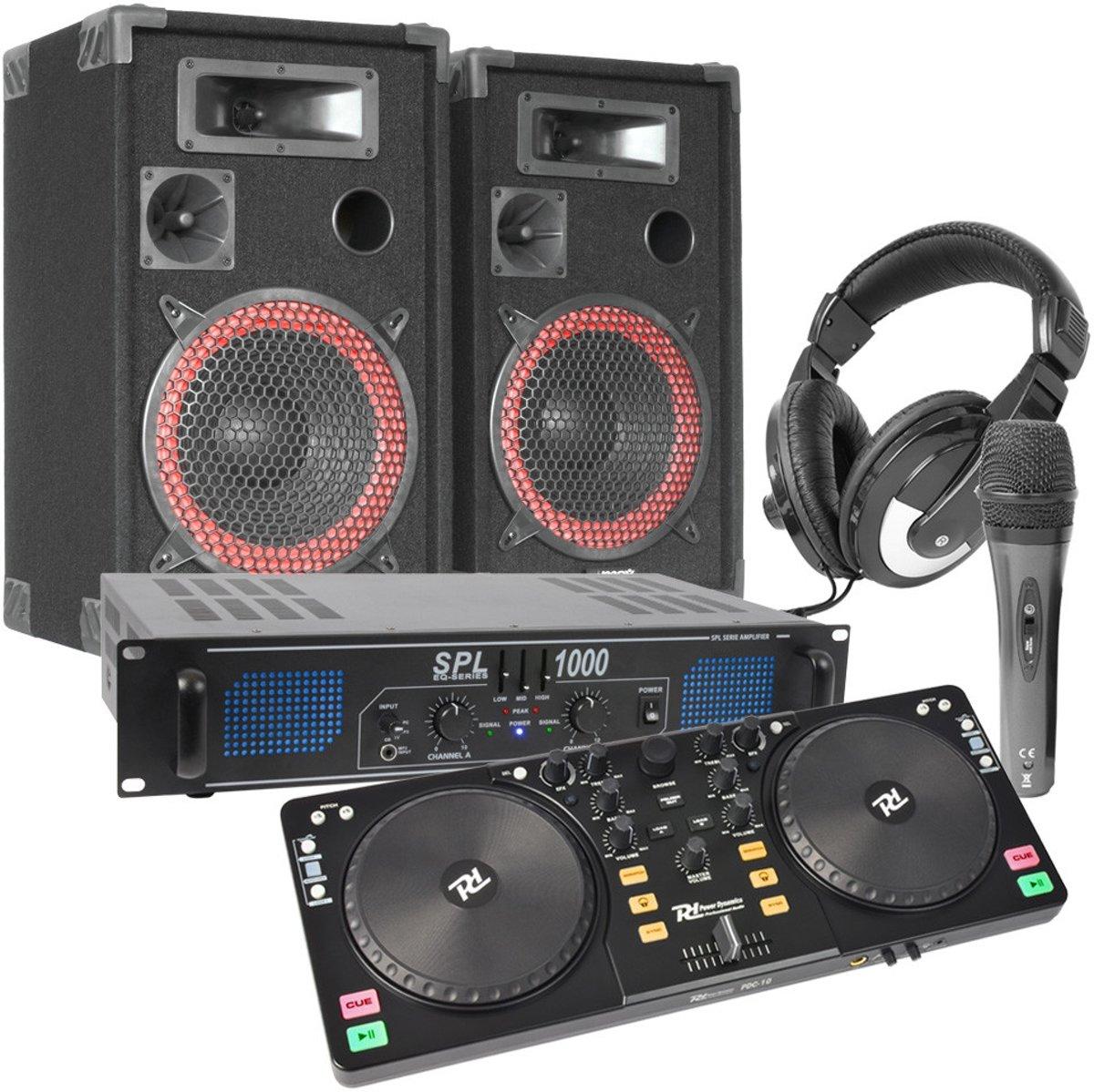 Power Dynamics PDC-10 DJ Controller set 1000