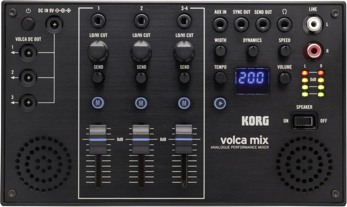 Korg Volca Mix analoge performance mixer