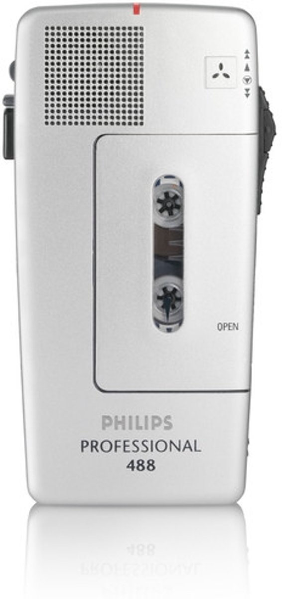 Philips Pocket Memo dictaphone Wit