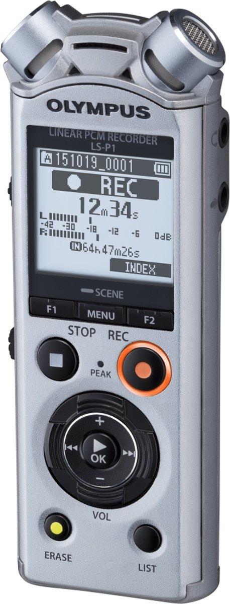 Olympus LS-P1 Mobiele audiorecorder Zilver