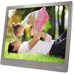 Hama Steel Digitale fotolijst 25.4 cm (10 inch) 1024 x 768 pix 4 GB Zilver