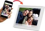 Denver PFF-1513White - 15.6'' Digitale fotolijst met Frameo software en Wi-Fi -Wit