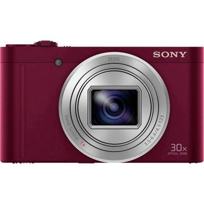 Sony DSC-WX500 Digitale camera 18.2 Mpix Rood