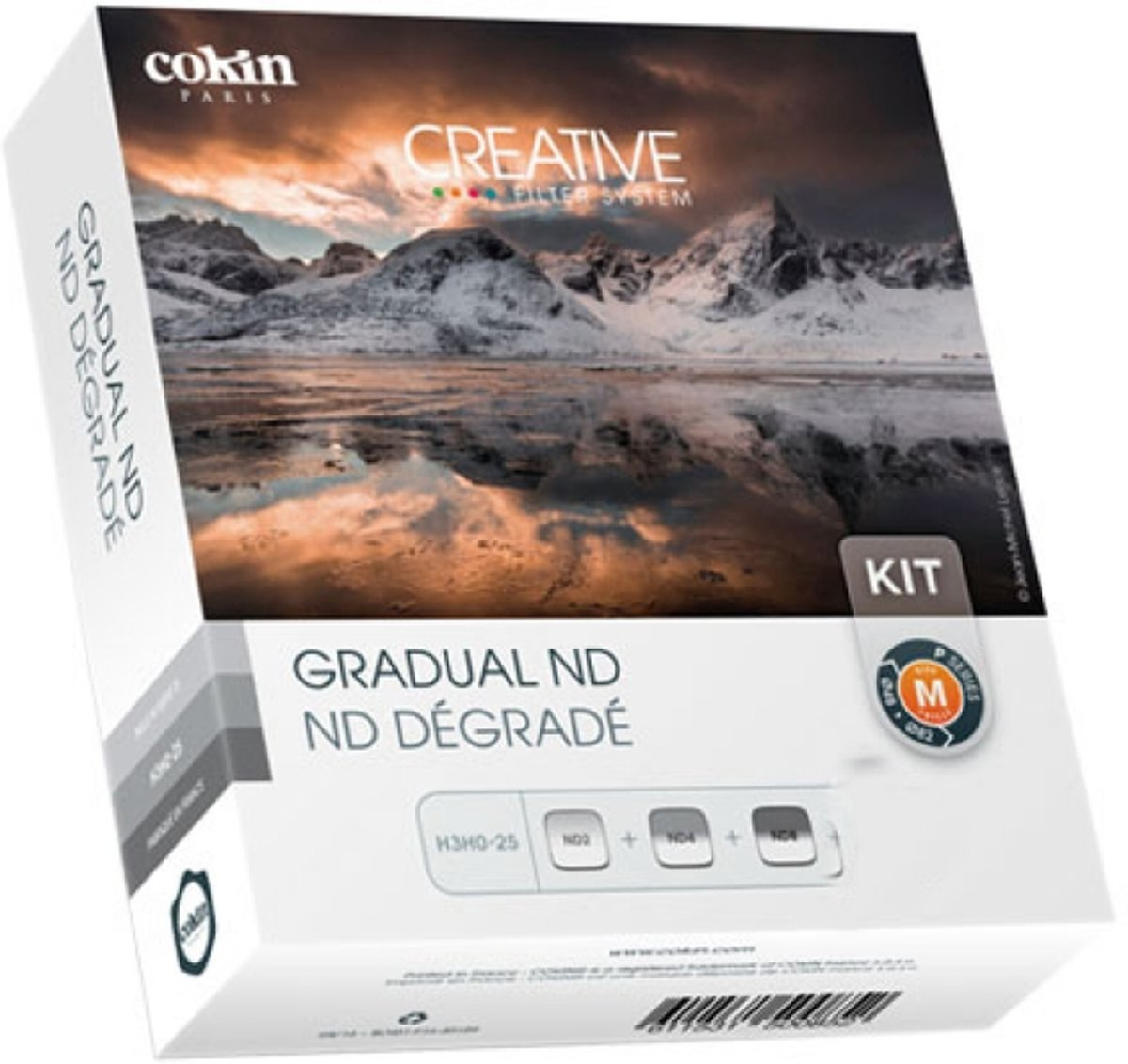Cokin U300-02 Gradual ND Kit incl. 3 filters