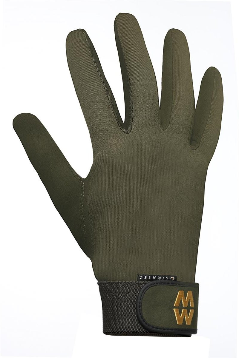 Climatec Long Sports Gloves Green - maat 10,5