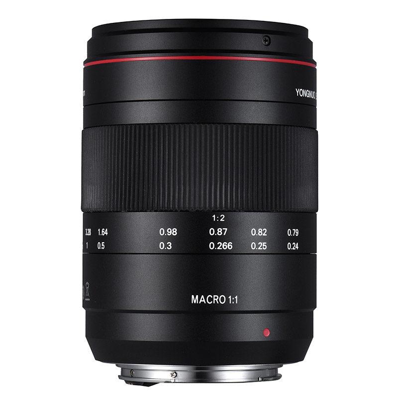 Yongnuo YN 60mm f/2.0 Macro Canon objectief